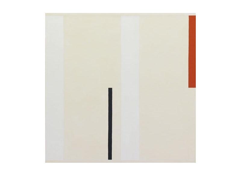 César Paternosto Verticales, ritmo lateral 2006 Óleo, polvo de mármol, gesso sobre lienzo