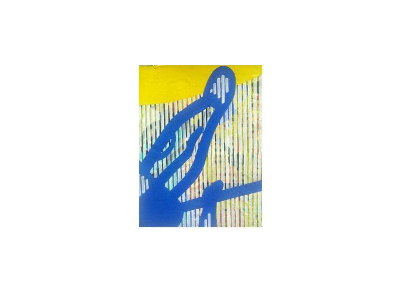 Dieter Korbanka Sin título. 1997/99 Óleo y acrílico s/lienzo 87 x 64 cm