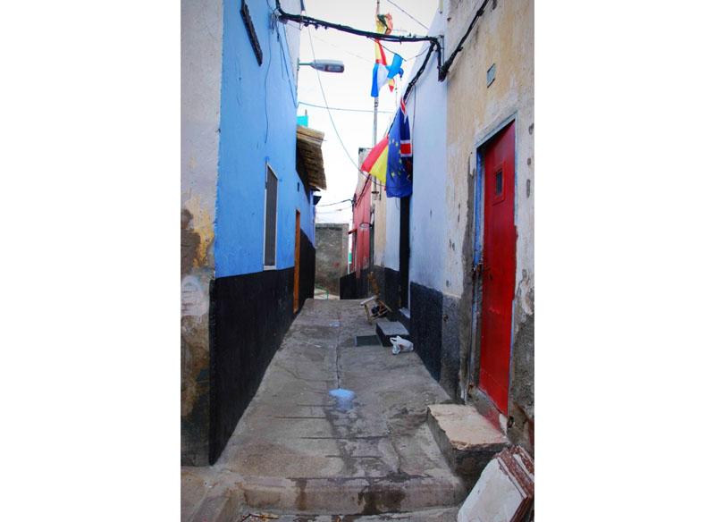 (Risco de San Nicolás), 2018 Fotografías s/ papel. 120x78 cm.