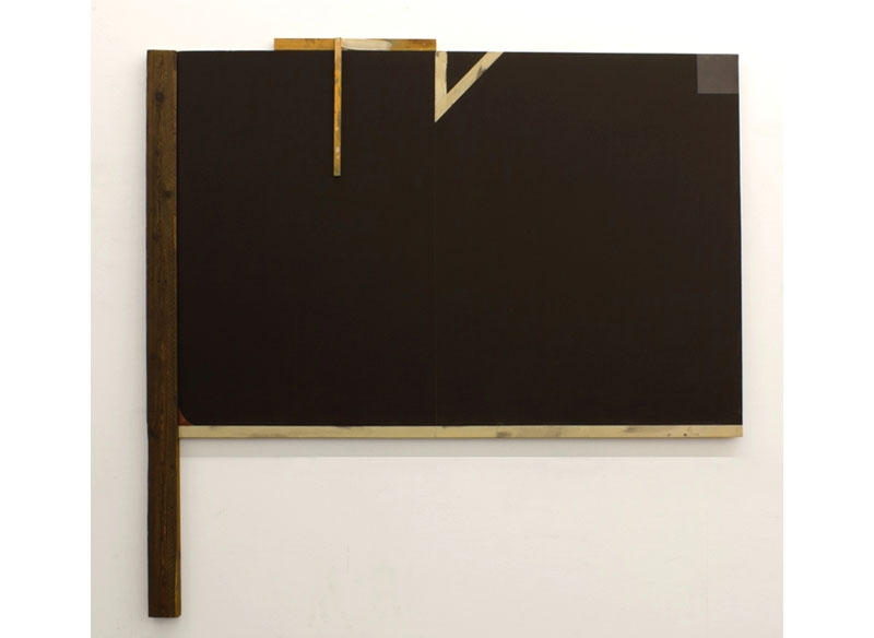 Jesús Matheus Gran Construcción 2017 Acrílico, óleo/lienzo, madera intervenida. - 182x187x4,5 cm