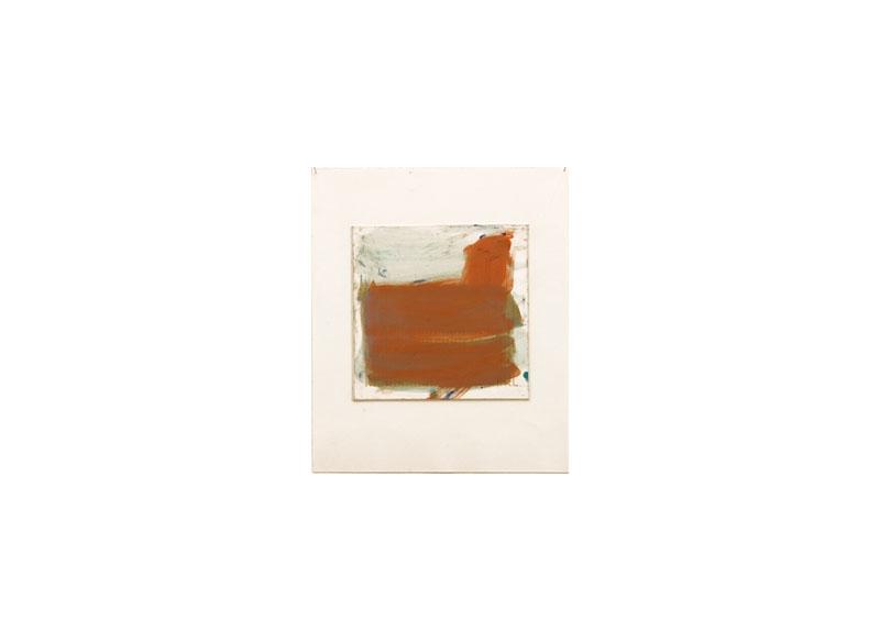 Jesús Matheus Cartografía I 2016 Óleo / papel impreso encolado a papel. - 35x30 cm.