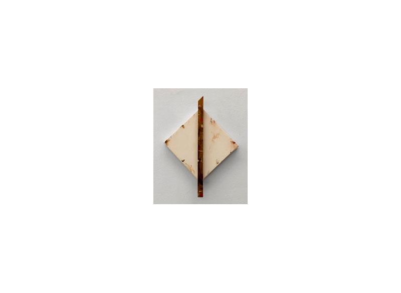 Jesús Matheus Saga de los Vientos - De los Vientos 5 2017 Óleo/lienzo, madera intervenida. - 37x29x4 cm