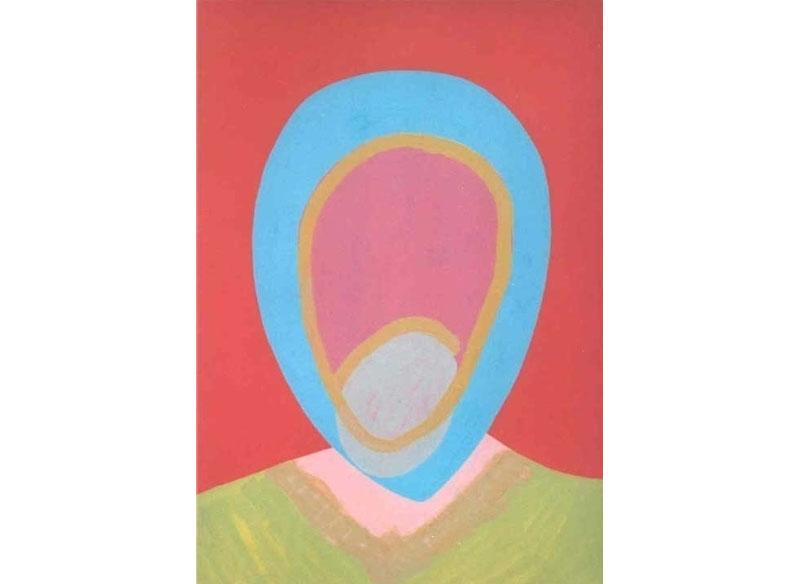Luis Palmero Indian Summer XII 2005 Acrílico sobre tela y madera.