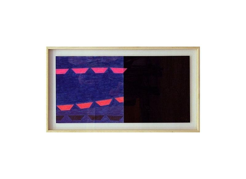 Luis Palmero Sin título 2004 Acrílico sobre papel.- 49 x 86 cm