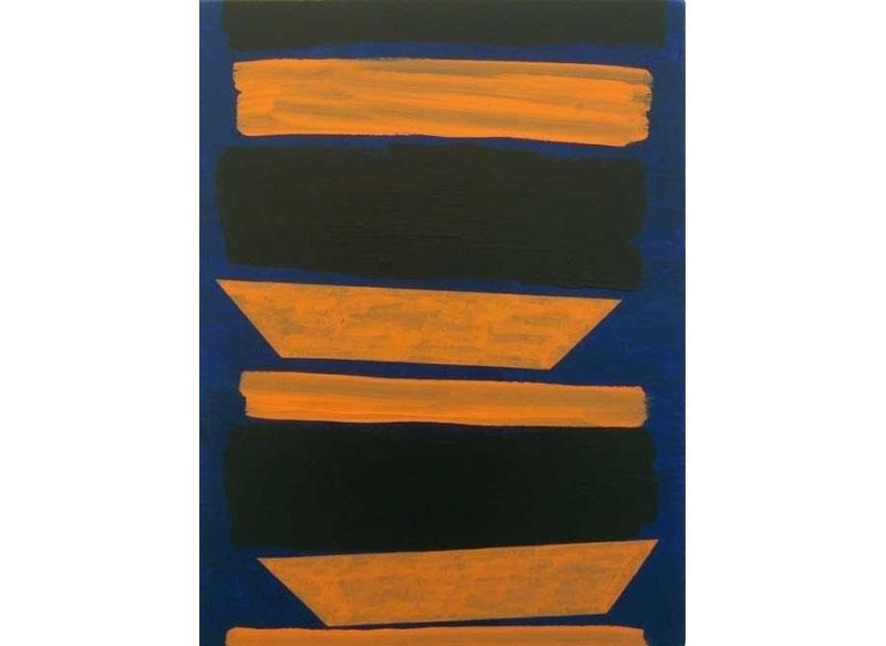 Luis Palmero De la serie early I 2005 Acrílico sobre tela y madera.- 64 x 48 cm