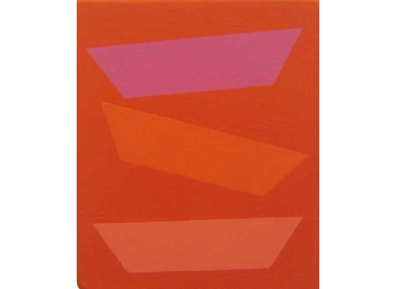 Luis Palmero Aftermath III 2002 Acrílico sobre tela y madera.- 31,5 x 27 cm