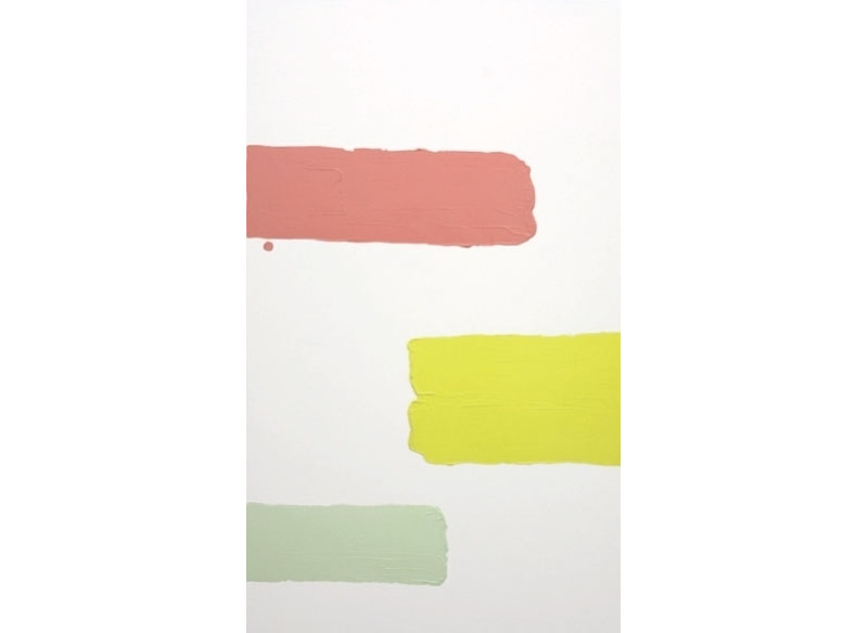 Luis Palmero Serie Tres Sabores 2007 Acrílico sobre lienzo.- 210 x 130 cm