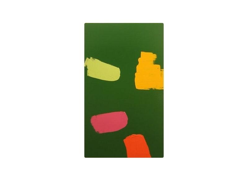 Luis Palmero Sin título Acrílico sobre tela.- 220 X 130 cm