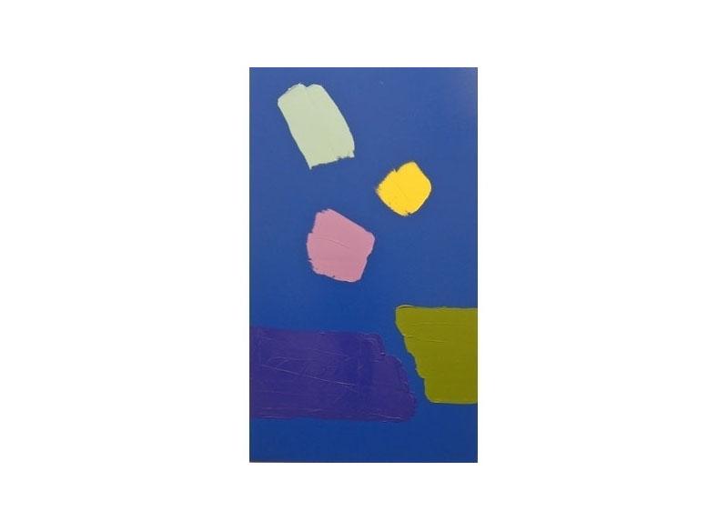 Luis Palmero Señorita por favor II Acrílico sobre tela.- 220 X 130 cm