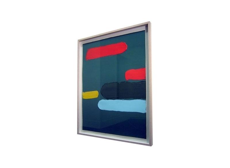 Luis Palmero Sin Título Acrílico sobre papel.- 83 x 63 cm