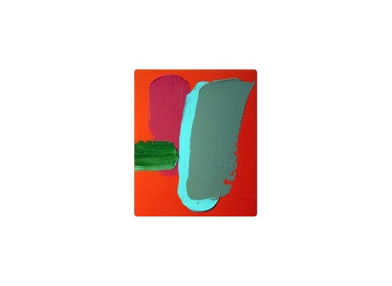 Luis Palmero no words Acrílico sobre lienzo y madera.- 32 x 27 cm