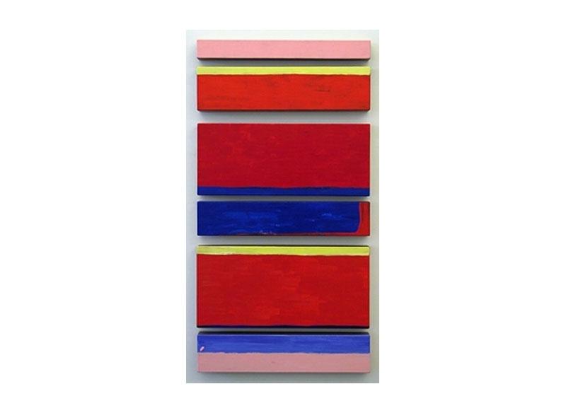 Luis Palmero Serie Simple melody I 2005 Acrílico sobre lienzo y madera