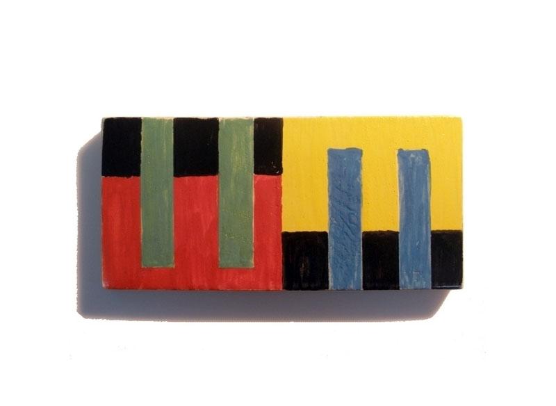 Luis Palmero Cerámicas 6 - A 2012 Cerámica.- 12 x 24 cm