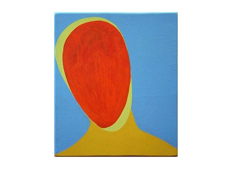 Luis Palmero Indian summer 2005 Acrílico sobre lienzo y madera