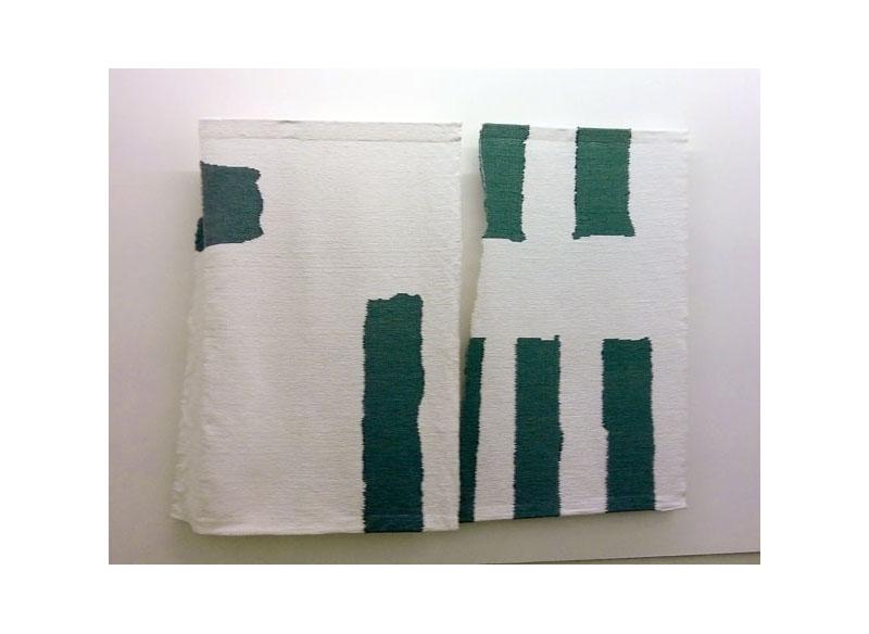 Luis Palmero Tapices III Tapices en algodón, lana y trapo
