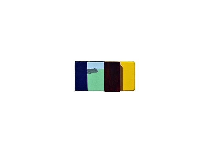 Luis Palmero Sin título (Opal) Acrílico sobre tela y madera.- 11,5 x 23 x 02 cm
