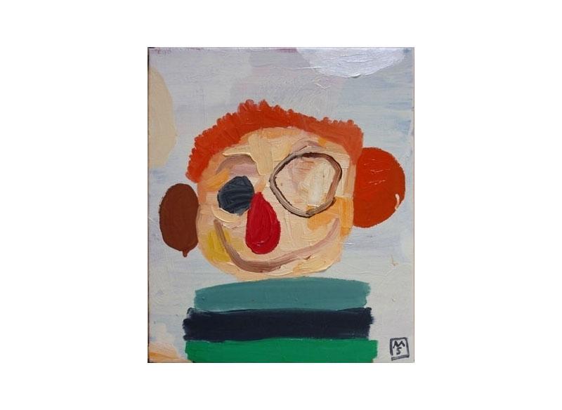 Matías Sánchez Marc Chagall 2009 Óleo sobre lino