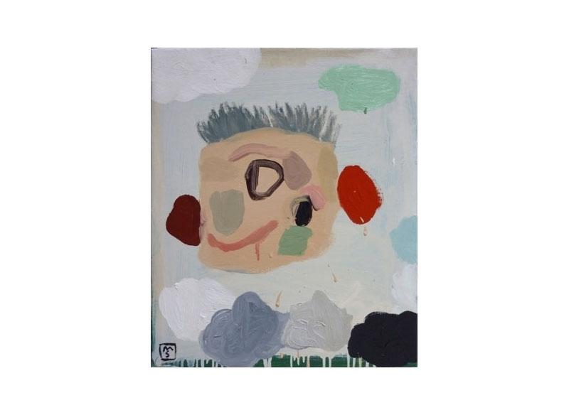 Matías Sánchez Paul Klee 2009 Óleo sobre lino