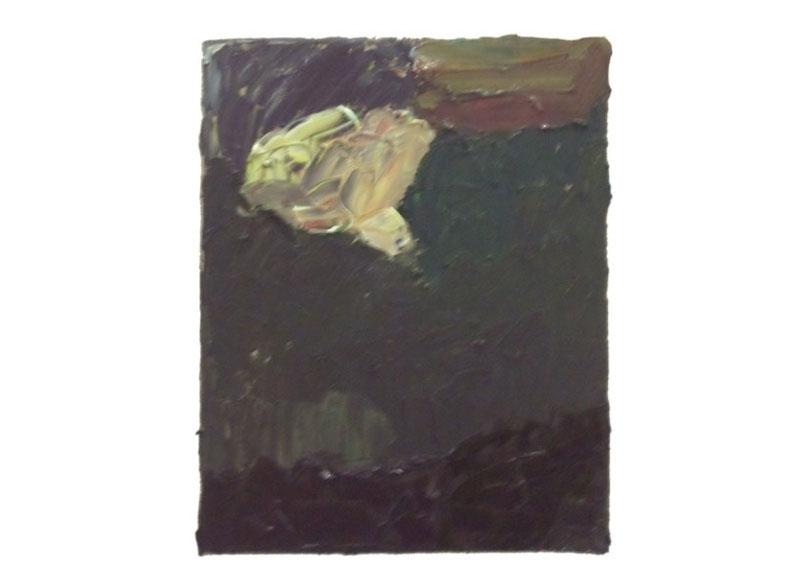 Norbert Prangenberg Sin título Óleo sobre lienzo.- 30 x 24 cm.