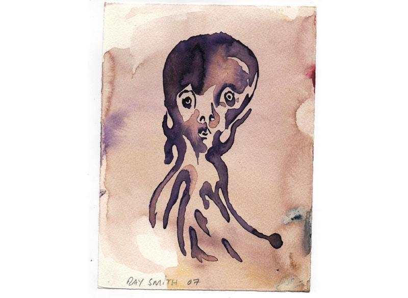 RAY SMTH (Hechizos) 2007 Acuarelas sobre papel. 20x15 cm