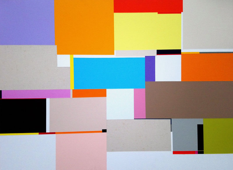 Richard Schur CANDY´S ROOM. 2011 Acrílico sobre lienzo. 60x80 cm.