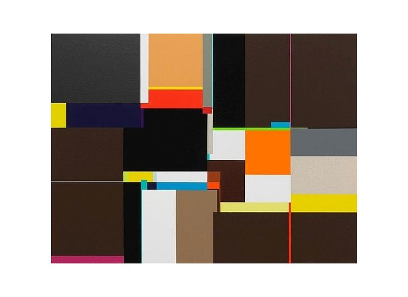 Richard Schur UNTITLE, EDGE OR LIGHT. 2011 Acrílico sobre lienzo. 60x80 cm.