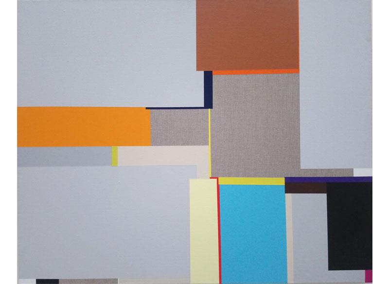 Richard Schur FOG BAY. 2011. Acrílico sobre lienzo. 80x100 cm.