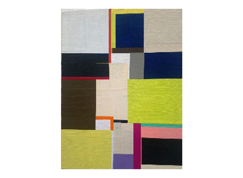 Richard Schur UNTITLED (SPIRIT) Study. 2011. Acrílico sobre madera. 40,5x30,5 cm.