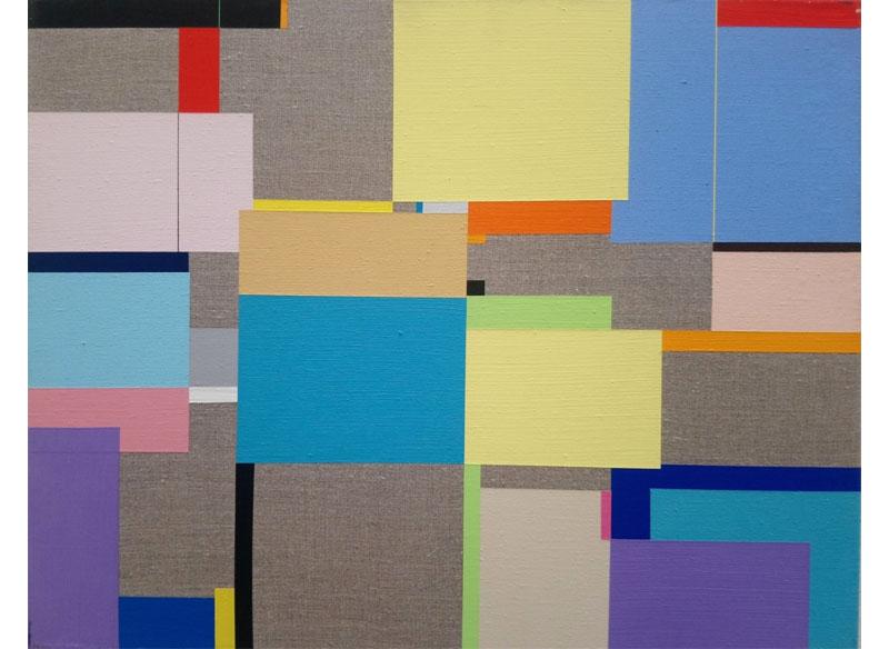 Richard Schur SPRIG. 2009. Acrílico sobre lienzo. 43x54 cm.