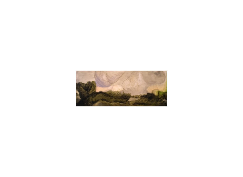 Sema Castro Sin título Óleo sobre papel - 10,5 X 28,5 cm
